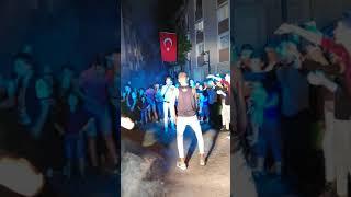 Asker eglencesi Zeytinburnu dans kapışması 1