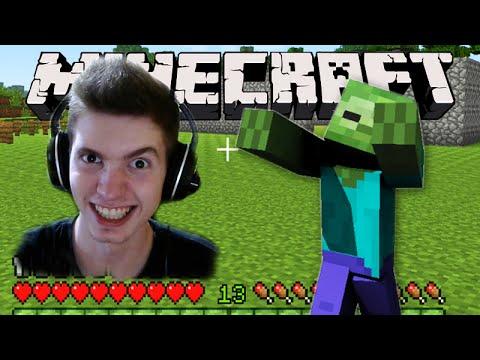 Minecraft: Começando a CONSTRUIR a CASA! - Sobrevivendo com Lipão #04