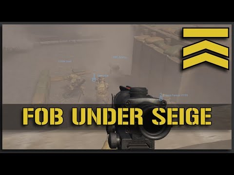 FOB Under Siege - Squad Gameplay Alpha 9.4 FOB Point Defense