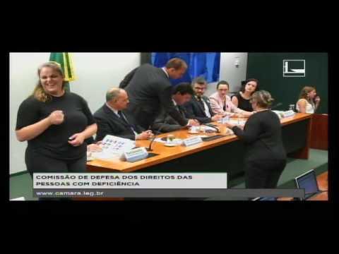 DEFESA DOS DIREITOS DAS PESSOAS COM DEFICIÊNCIA - Audiência Pública - 09/11/2016 - 15:41