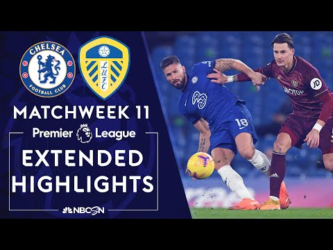 Chelsea v. Leeds United | PREMIER LEAGUE HIGHLIGHTS | 12/5/2020 | NBC Sports