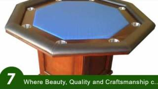 Custom Poker Tables By Danny Vaittsman