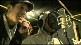 Vernon Kay in the studio with Labrinth, Chipmunk & Beardyman
