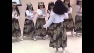 رقص بنوتات سعوديات على شيلة عاصفة الحزم