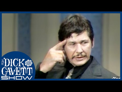 Charles Bronson on Jumping Onto Freights In His Youth | The Dick Cavett Show