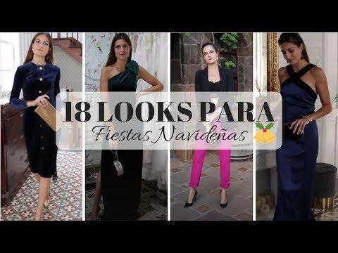 88e538e38 18 LOOKS PARA FIESTAS NAVIDEÑAS - Marilyn s Closet - YouTube