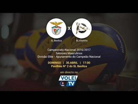 SL Benfica vs SC Espinho - 3º Jogo Apuramento Campeão Nacional Divisão Elite Seniores Masculinos