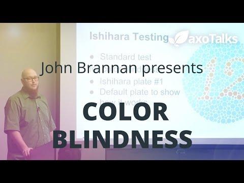 COLOR BLINDNESS by John Brannan - AxoTalks Video