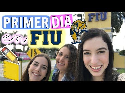 Primer Día en la Universidad FIU ♡Trillizas | Triplets