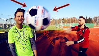 RIESEN-FUßBALL-CHALLENGE | Ksfreak vs Krappi