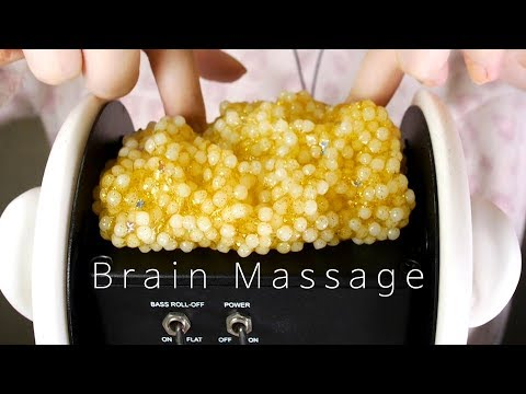ASMR Massage & Piercing Your Slime Brain