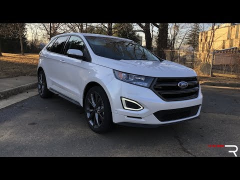 2018 Ford Edge Sport Redline Review