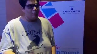 Tanmay Bhat at The Edutainment Show 2016