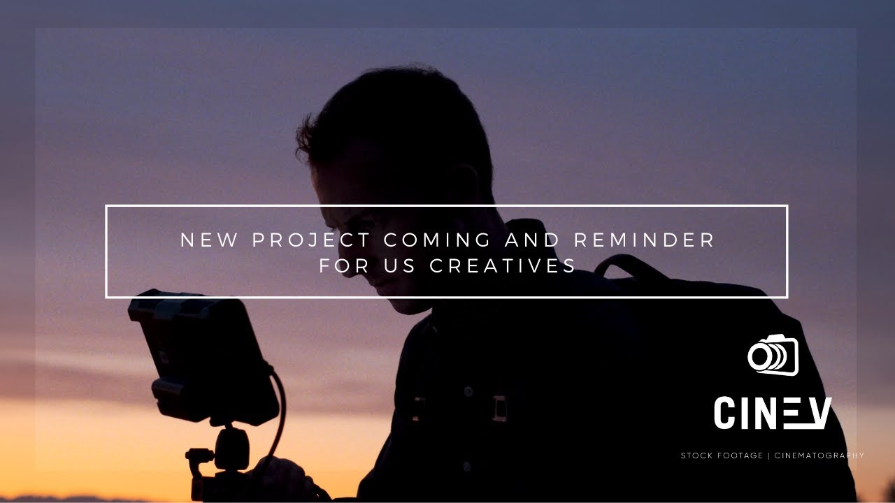 NEW PROJECT AND REMINDER FOR US CREATIVES