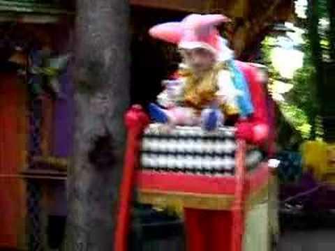Renaissance Festival jester character