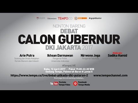 TEMPO LIVE: Nobar Debat Calon Gubernur DKI Jakarta 2017