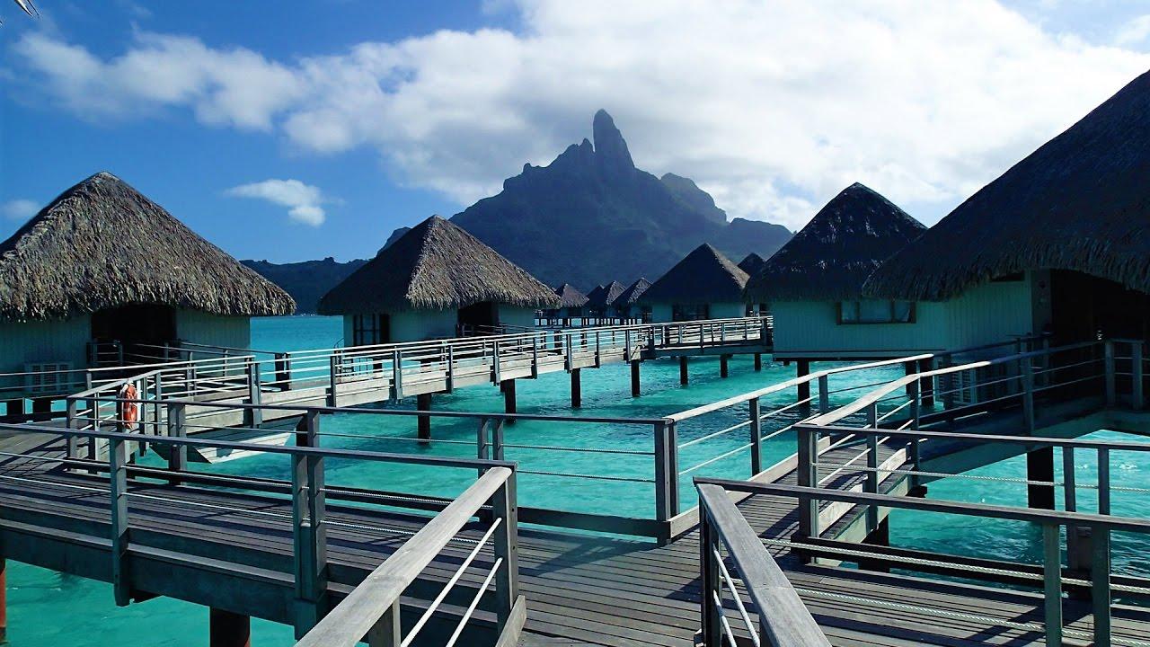 Overwater Bungalow Room Tour at Le Meridien Resort in Bora ...