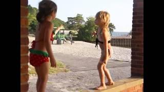Twins Talking In Very Odd Secret Language