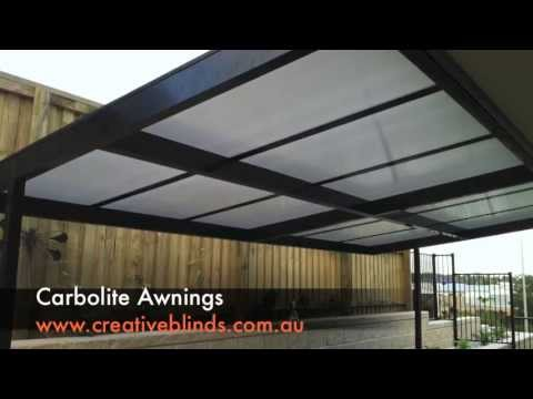 Creative Blinds & Awnings Carbolite Awning Ballina