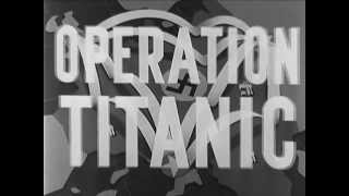 WWII Bombing of Germany: OPERATION TITANIC - 1944 - CharlieDeanArchives / Archival Footage