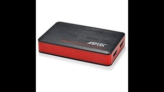 Unboxing AGPTEK USB3.0 capture card for live-streaming!