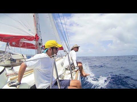 It's Always a Beat to Windward - Antigua Sail Week Part II (MJ Sailing - EP 72)