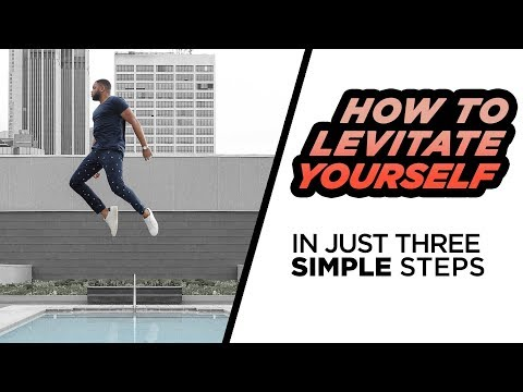 How To FLY In Instagram Photos | FLOAT YOURSELF with Photoshop | DevanOnTech