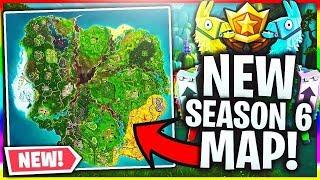 NEW *SEASON 6* SECRET MAP SPOTS! ( Fortnite Battle Royal)