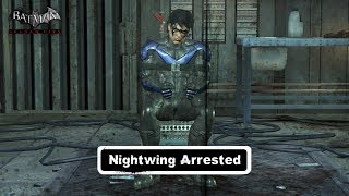 CHAR SWAPS; Batman; Arkham City; Nightwing Arrested