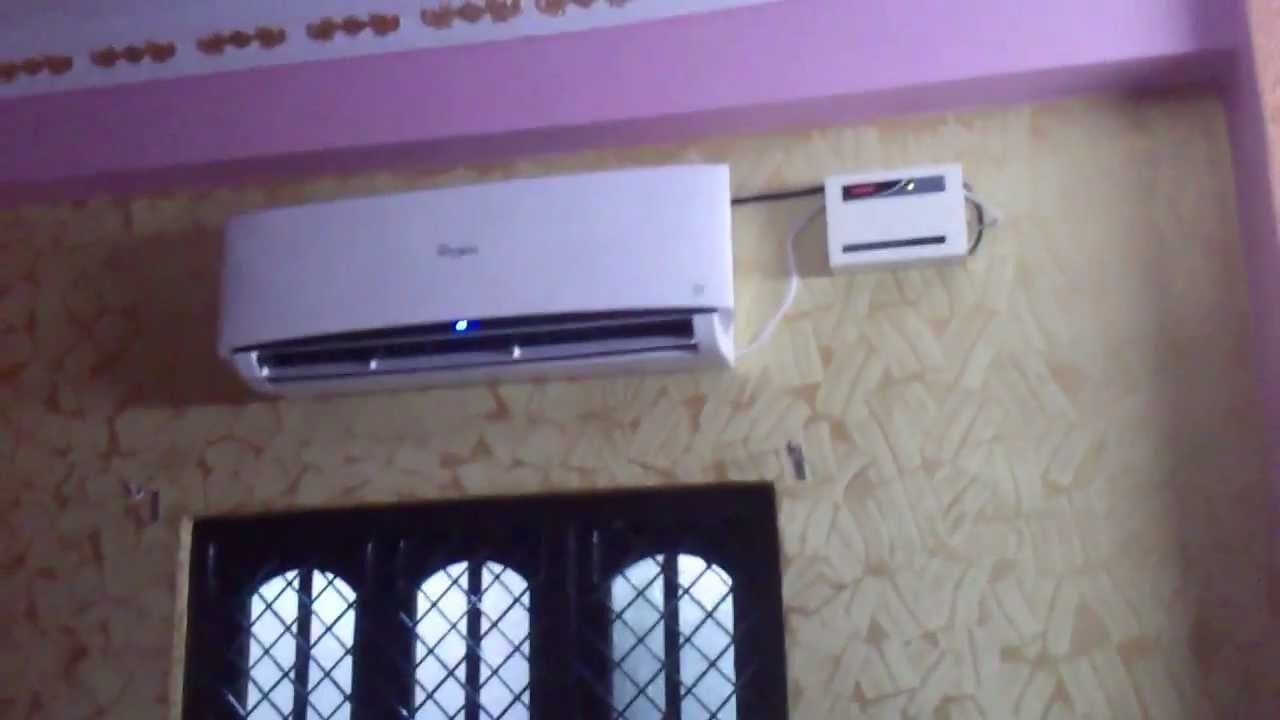 Whirlpool 3d Cool Split Airconditioner Youtube