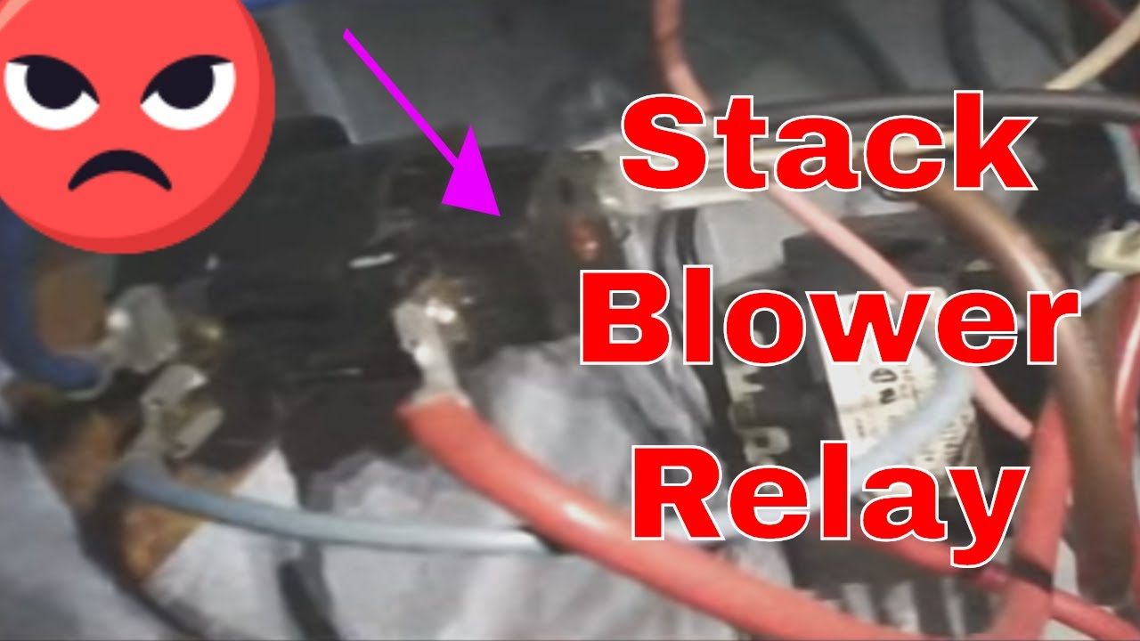 hvac service call goodman stack blower relay strikes