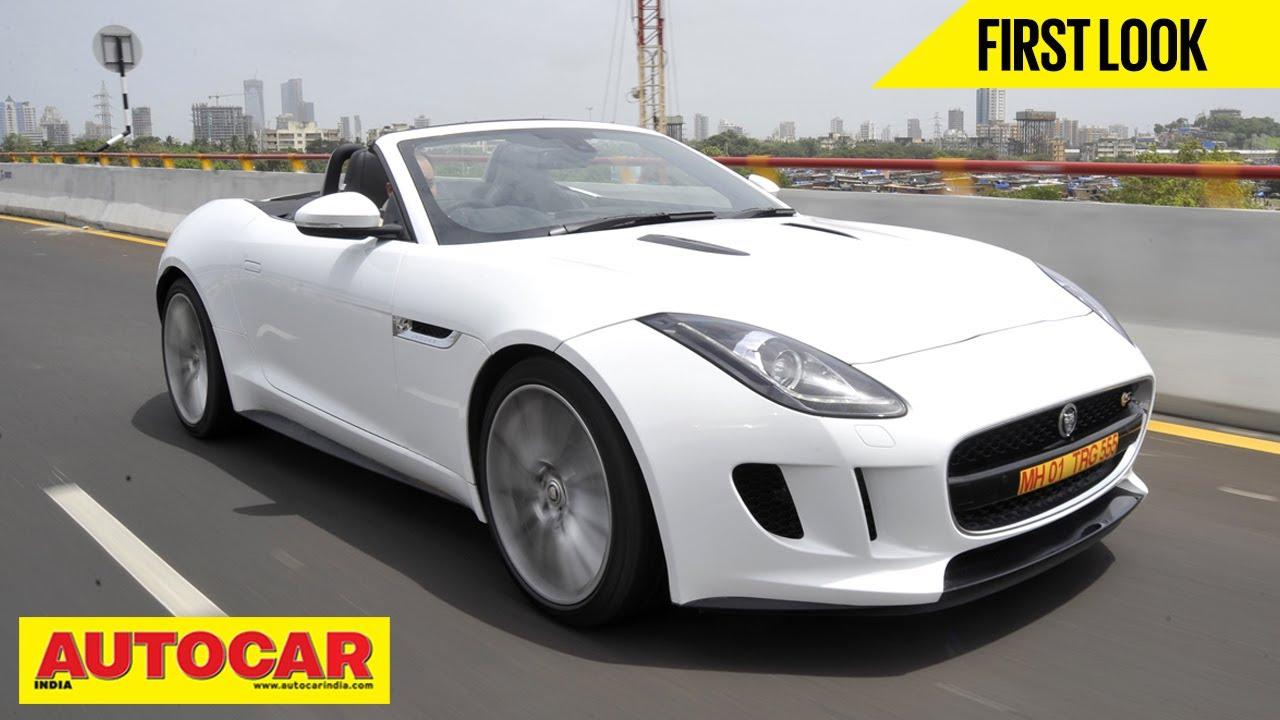 Jaguar F Type V8 S | Exclusive India Drive | Autocar India   YouTube