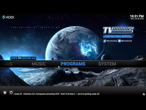 ***UPDATED 26/01/2016*** how to install and configure kodi