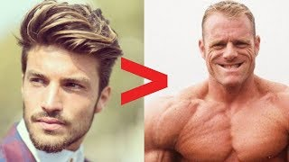 ✔️Keeping Your Hair | ❌Gaining More Muscle With Androgenic Steroids