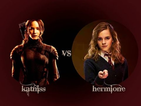 Princess Rap Battles - Katniss VS Hermione (Whitney Avalon & Molly C. Quinn) - LYRICS