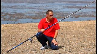 Sea Angler reviews the new Sonik SKS beach fishing rod