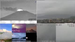 19/3/2018 - Mt Shinmoedake 新燃 & Sakurajima 桜島 TimeLapse thumbnail