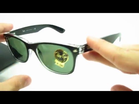 unboxing-ray-ban-rb-2132-6052-new-wayfarer-sunglasses