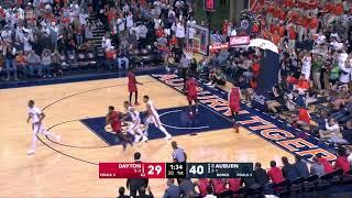 Auburn Men's Basketball Highlights vs. Dayton