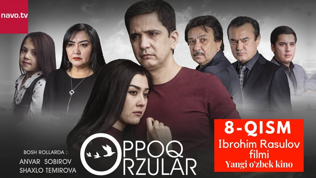 Oppoq orzular (uzbek serial) | Оппоқ орзулар (узбек сериал) - 8-qism