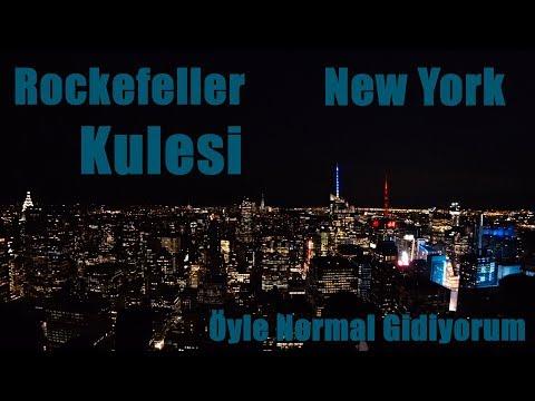 Rockefeller Kulesi'nin Tepesi - New York Manzarası
