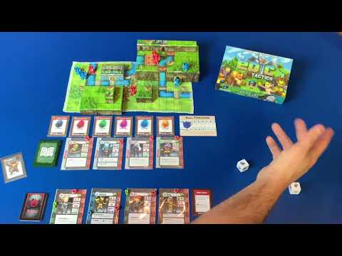 Tiny Epic Tactics Solo Adventure Playthrough (prototype)