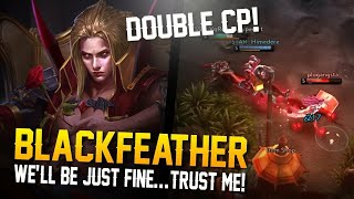 Vainglory - Road to Vainglorious [Gold]: DOUBLE CP! Blackfeather|CP| Jungle Gameplay