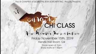 Sigma Psi Zeta Sorority Inc.| Xi Chapter | Chaotic Chi Class | Teaser