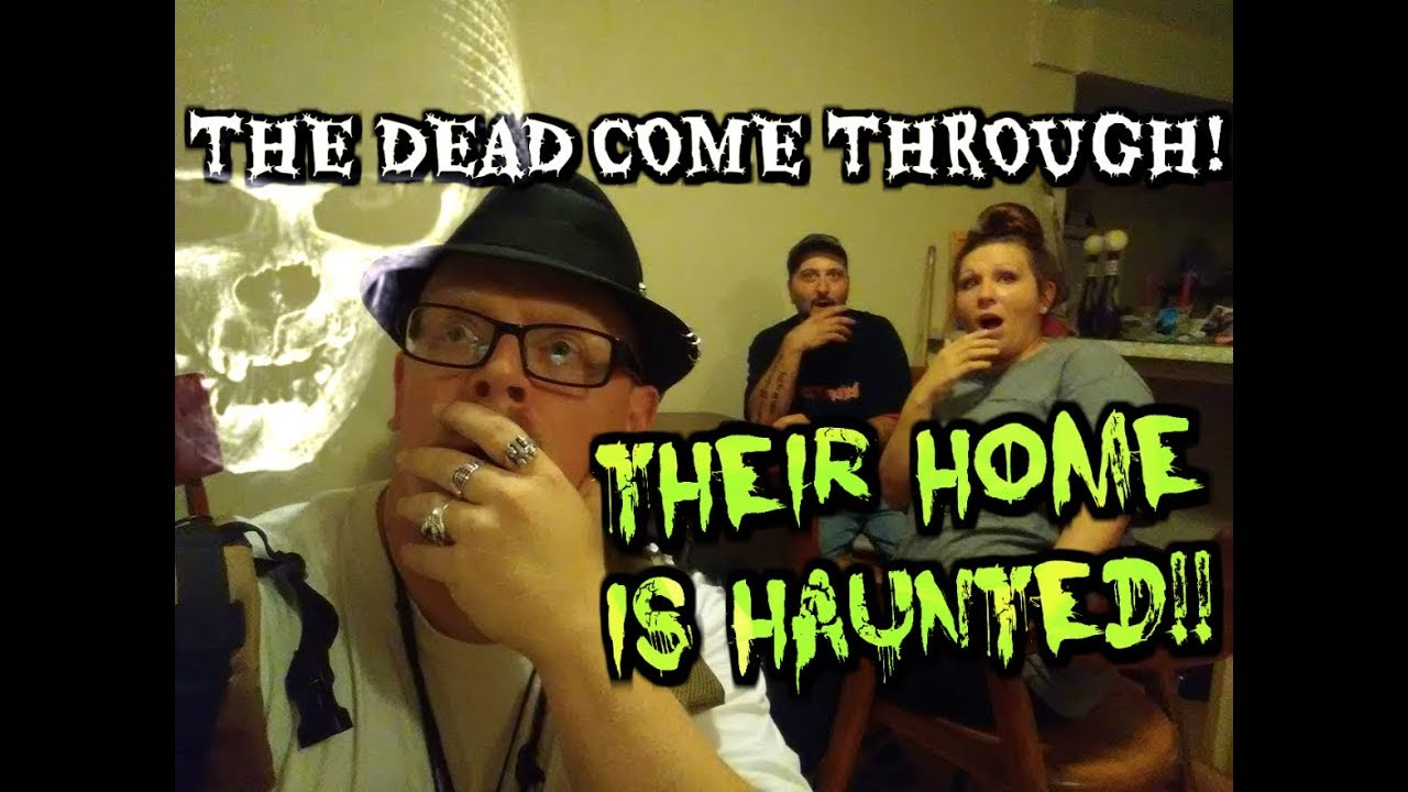 This Couple Lives With Spirits Proof Their Home Is Haunted Youtube
