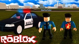 ROBLOX-THE WORLD'S WORST POLICE (Vehicle Simulator)