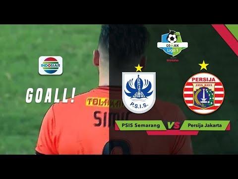 Goal Marko Simic - PSIS Semarang (0) vs Persija (3) |  Go-Jek Liga 1 bersama Bukalapak