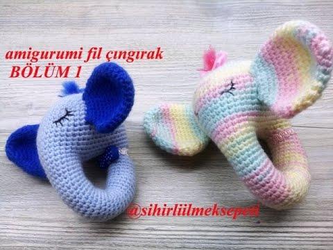 Amigurumi Fil Modeli | Hayvan desenleri, Amigurumi modelleri, Baby ... | 360x480