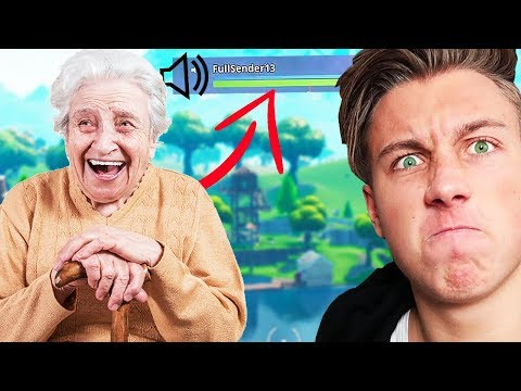OMA im Fortnite Video 😂
