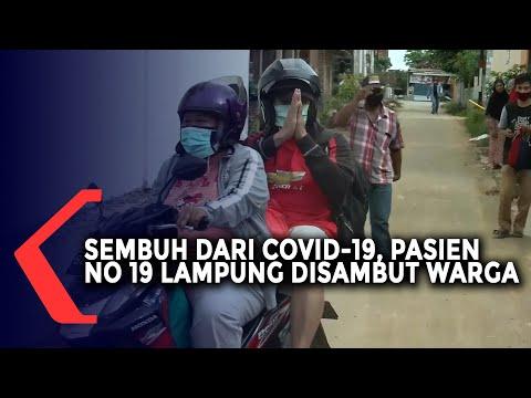Sembuh Dari Covid-19, Pasien 19 Lampung Disambut Warga